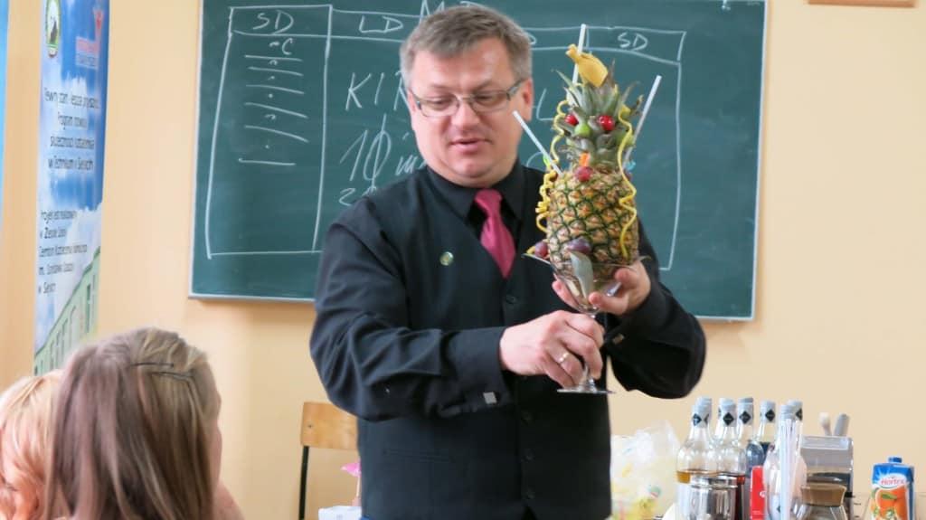 szkolenia kelnerskie ananas