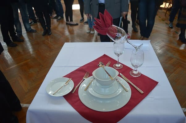 Improstyl prezentacja stolika na mistrzostwach kelnerow 4