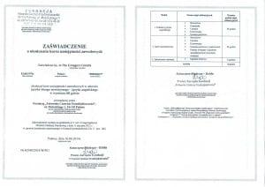 kurs umiejętności zawodowych Grzegorz Górnik