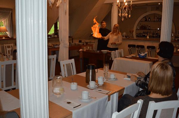 Grzegorz Górnik warsztaty kelnerskie